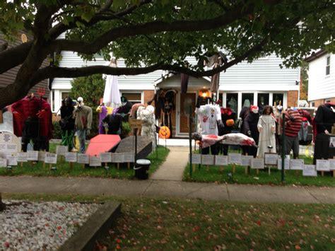 halloween haunts 15 spooktacular yard displays oak lawn il patch