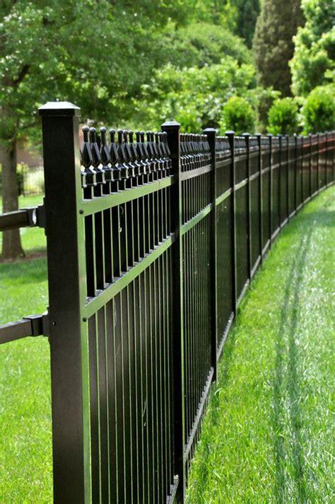 aluminum fence residential championfence aluminum