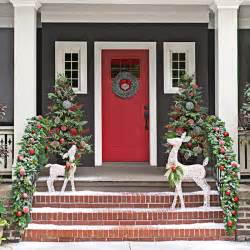 Porch Decorations For Christmas christmas decor for front porches