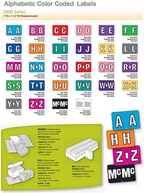 alpha color alpha color code labels at charts carts paper charting