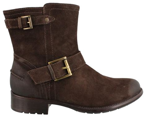 clarks plaza float boots leather womens ankle boots low