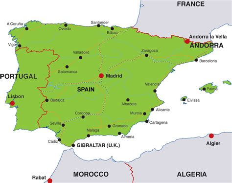 iberian peninsula map image gallery iberia on world map