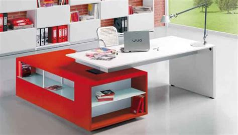 office desks for small spaces bright color office desks home designs project