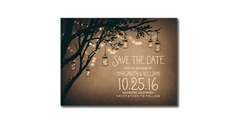 free save the date wedding cards templates wonderful creation save the date postcards templates rustic lights vintage concept
