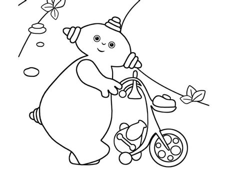 Free Upsy Daisy Coloring Pages Iggle Piggle Colouring Pages