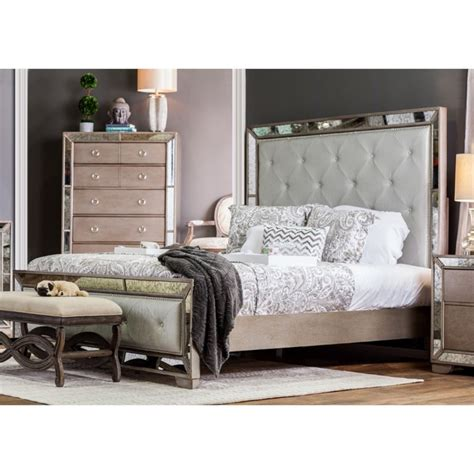 california king bedroom furniture furniture of america eckel 4 piece california king bedroom