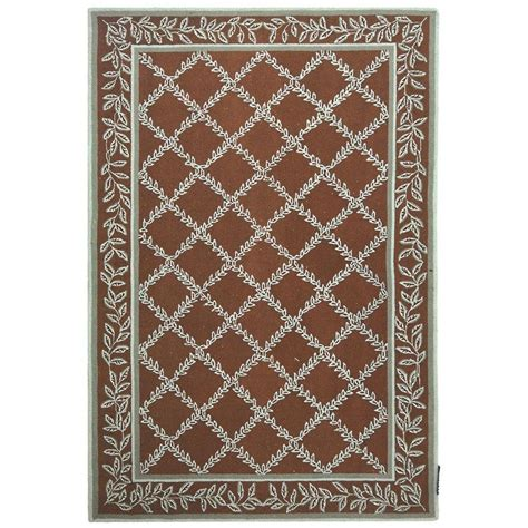 Area Rugs 6 X 9 Safavieh Chelsea Brown Blue 6 Ft X 9 Ft Area Rug Hk230g 6 The Home Depot