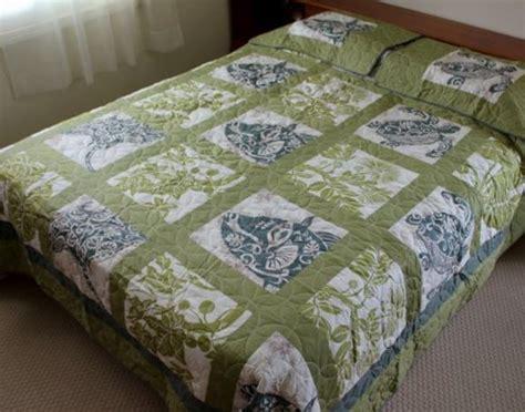 sea turtle bed sheets green hawaiian patch bedding the hawaiian home