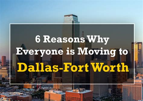 reasons to move to austin 6 reasons everyone is moving to dallas fort worth