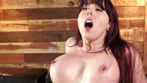 Horny Brunette Milf With Big Boobies Humped Till Facial