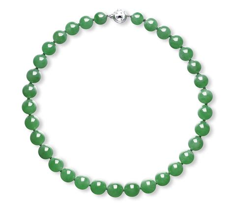 a jadeite bead necklace jewelry auction necklace jade