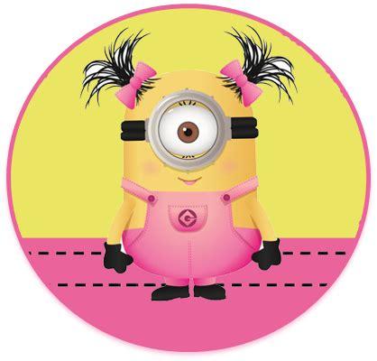 Imagenes Minions Nena   kit imprimible candy bar minions nena para cumplea 241 os