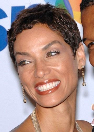 nicole mitchell short curly casual hairstyle nicole murphy short hair short curly hairstyle