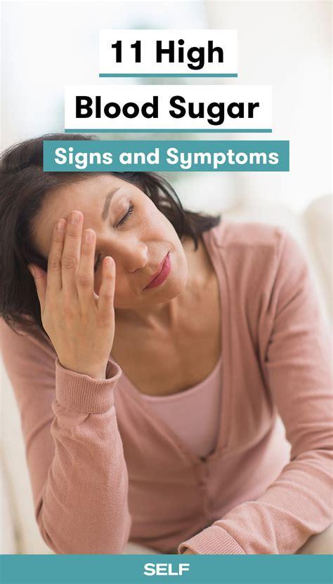 high blood sugar symptoms     health