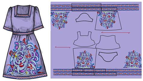 Garment Pattern Engineering | engineering print for garments yeonsook ravensbourne