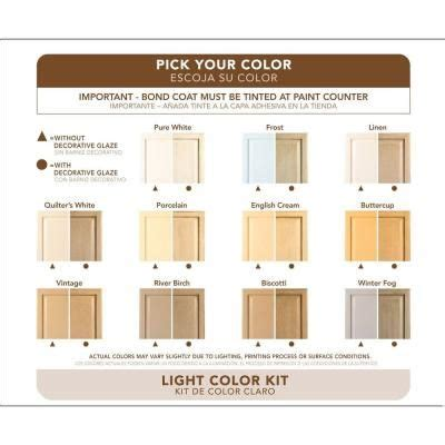 rustoleum cabinet paint colors rust oleum transformations light color cabinet