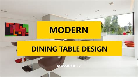 modern dining table design ideas 45 cool modern dining table design ideas 2017