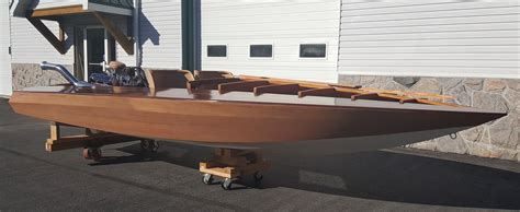 wooden runabout boat builders boats for sale tim butson wooden boat builder