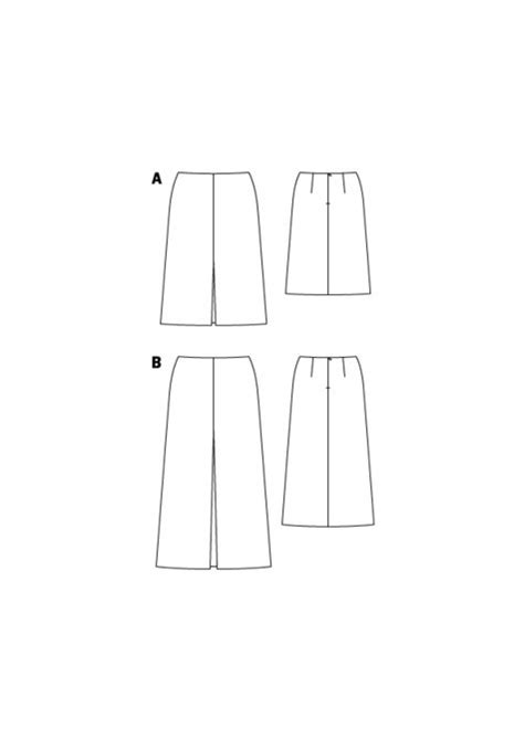 a line skirt plus size 03 2016 134a sewing patterns