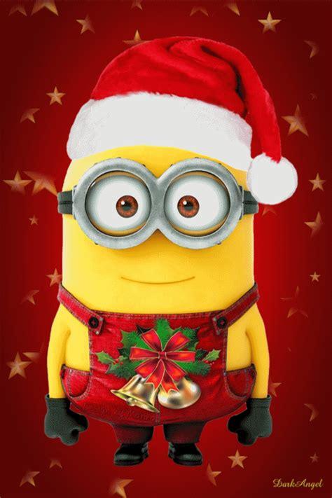 funny christmas minion mobile wallpaper