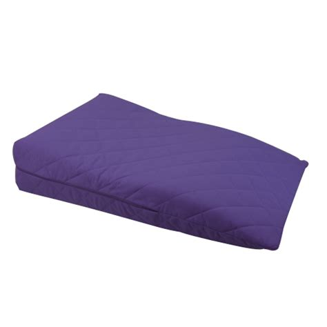 purple bed rest pillow purple orthopaedic contour leg raise pillow foot rest