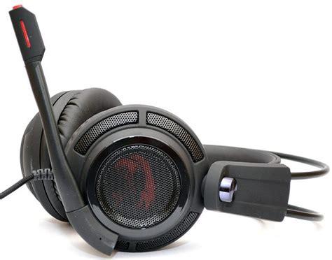 Msi Ds502 Gaming Headset msi ds502 gaming headset review eteknix