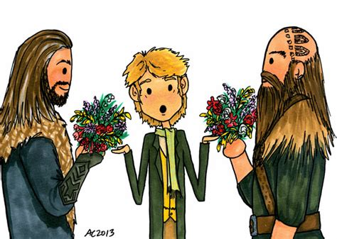 Kaos The Hobbit The Hobbit 15 flowers for bilbo swtalmnd the hobbit jackson