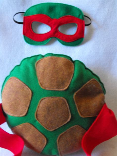 pattern for ninja turtle mask tmnt shell and mask set by capesncrowns on etsy