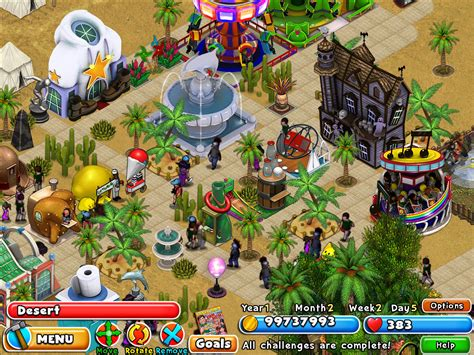 theme park game online dream builder amusement park downloaden und spielen auf