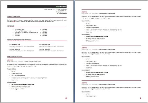 doc 580600 resume exle sle high school student