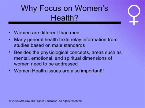 Womens Issues Healthcare Mba by Womens Health 1
