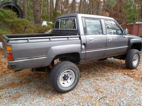 1988 Toyota Hilux Diesel For Sale Rhd 1988 Toyota Hilux 4 215 4 Diesel Bring A Trailer