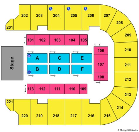 bancorpsouth arena seating map florida line tupelo tickets 2017 florida