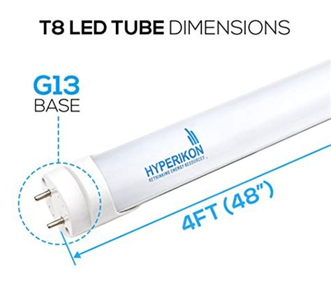 led t8 ls without ballast hyperikon t8 t10 t12 led 4ft light tube 4000k daylight