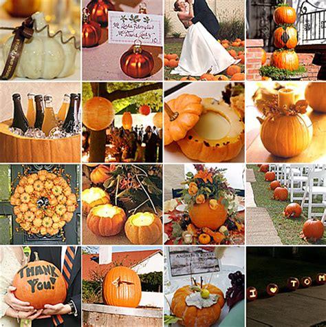october themed events pumpkin wedding decor event pros la blog