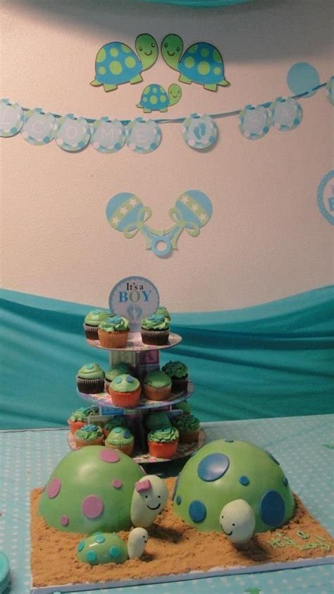 Turtles Baby Shower Theme by Turtle Themed Baby Shower Baby Shower