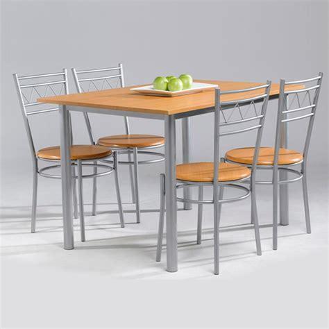conjunto anillo de mesa de cocina  sillas muebles baratos