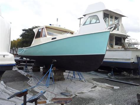lobster boats for sale in maine rebuild of a classic maine lobster boat general