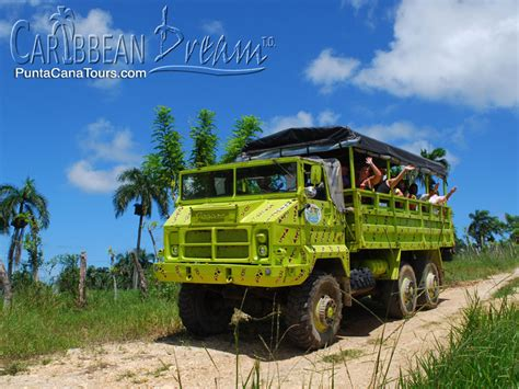 Trucker Hardrock Hotel 3 truck safari punta cana tours and excursions