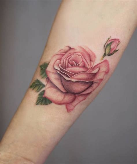 elegant rose tattoo 25 b 228 sta tattoos id 233 erna p 229
