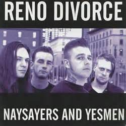 Reno Nv Divorce Records Reno Divorce Naysayers And Yesmen Cd Bombed Out Records Distro Bombed Out Records