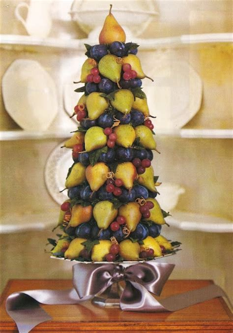 fruit centerpiece fruit centerpieces pinterest