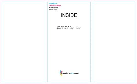 8 5 x 5 5 template tri fold brochure measurements 8 5 x 11 images