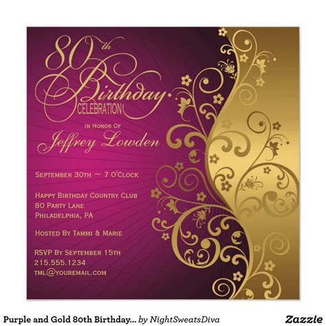 templates for 80th birthday party invitations birthday invites 80th birthday party invitations sle