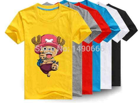 one piece chopper shirts 100 cotton custom logo t shirt printing make your own t shirt short 100 cotton cute one piece white color various color cute