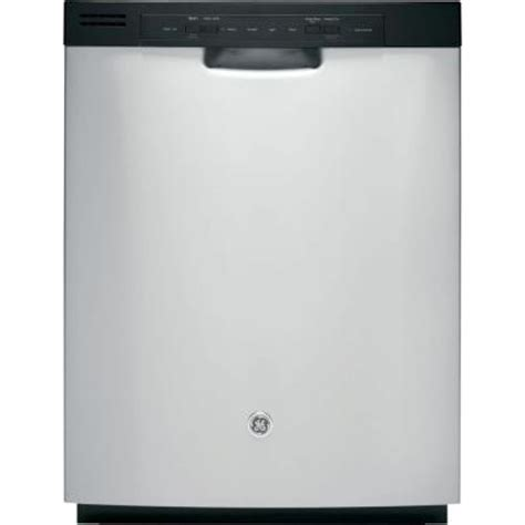 ge front dishwasher in stainless steel gdf510psdss