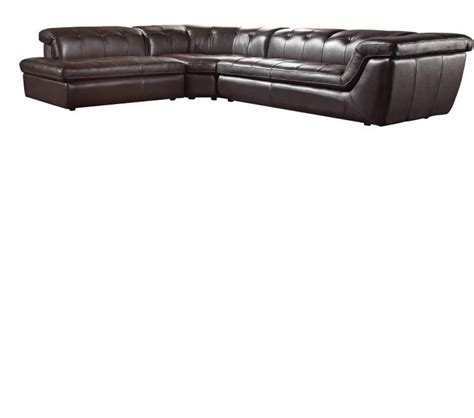 modern italian leather sectional dreamfurniture com divani casa refata modern italian