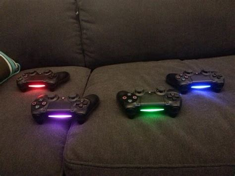 ps4 controller color change how to change your ps4 controller light color colorpaints co