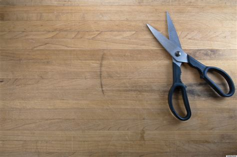 How To Sharpen Scissors At Home by Sharpen A Pair Of Scissors With Sandpaper To Get A