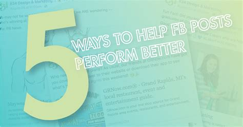 5 Helpful Posts To Blogstalk by 5 Ways To Help Your Posts Perform Better